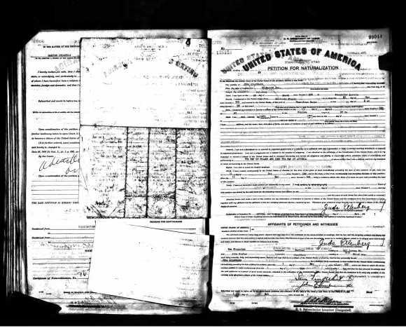 julius-ellenberg-naturalization-doc